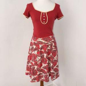 Effie's Heart dress sz Small fit flare